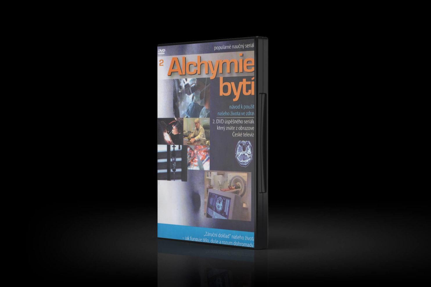 DVD seriálu Alchymie bytí