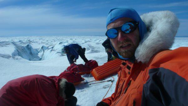 přechod Grónska z východu na západ